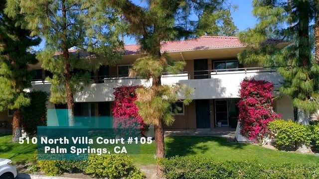 575 N Villa Court #105, Palm Springs, CA 92262 - MLS#: 219058799DA