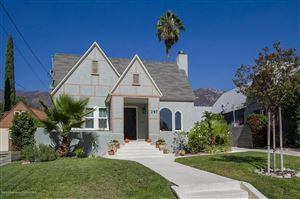 Photo of 297 West PALM Street, Altadena, CA 91001 (MLS # 818005006)