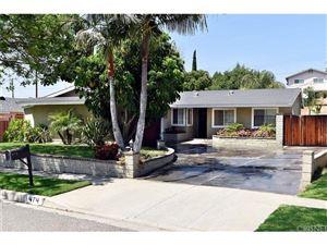 Photo of 474 TALBERT Avenue, Simi Valley, CA 93065 (MLS # SR18142011)
