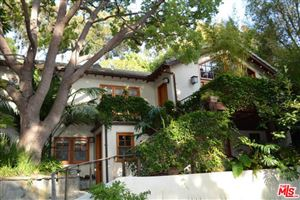 Photo of 27 LATIMER Road, Santa Monica, CA 90402 (MLS # 18357022)