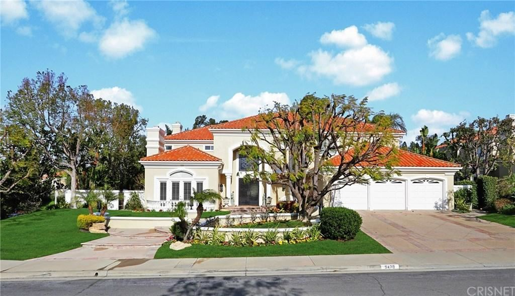 Photo of 5470 HOBSON Court, Calabasas, CA 91302 (MLS # SR20038031)