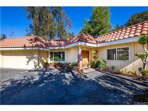 Photo of 16910 ESCALON Drive, Encino, CA 91436 (MLS # SR18237066)