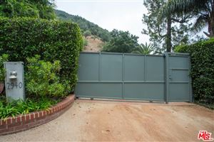 Photo of 2940 MANDEVILLE CANYON Road, Los Angeles , CA 90049 (MLS # 18414068)