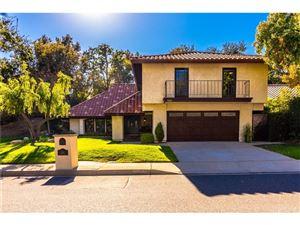 Photo of 855 HARTGLEN Avenue, Westlake Village, CA 91361 (MLS # SR18239073)