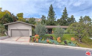 Photo of 3623 BALLINA CANYON Road, Encino, CA 91436 (MLS # 18321074)