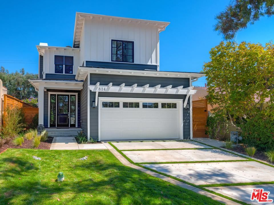 Photo for 814 HARTZELL Street, Pacific Palisades, CA 90272 (MLS # 19507074)