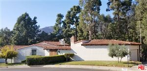 Photo of 17925 TRAMONTO Drive, Pacific Palisades, CA 90272 (MLS # 19522082)