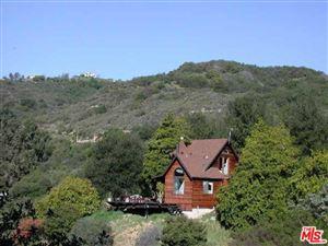 Photo of 850 GREENLEAF CANYON Road, Topanga, CA 90290 (MLS # 18312088)