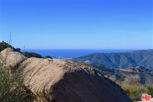 Photo of 24775 West SADDLE PEAK Road, Malibu, CA 90265 (MLS # 18347098)
