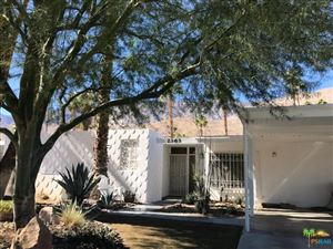 Photo of 2363 South CALLE PALO FIERRO, Palm Springs, CA 92264 (MLS # 18396630PS)