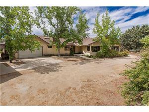 Photo of 9549 NORTHSIDE Drive, Leona Valley, CA 93551 (MLS # SR18144127)