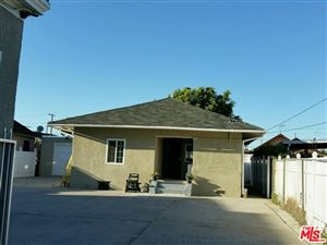 Photo of 1471 West 36TH Place, Los Angeles , CA 90018 (MLS # 18334138)