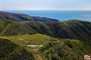 Photo of 9533 DEER CREEK ROAD, Malibu, CA 90265 (MLS # 19437140)