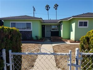 Photo of 3023 South E Street, Oxnard, CA 93033 (MLS # 218013143)