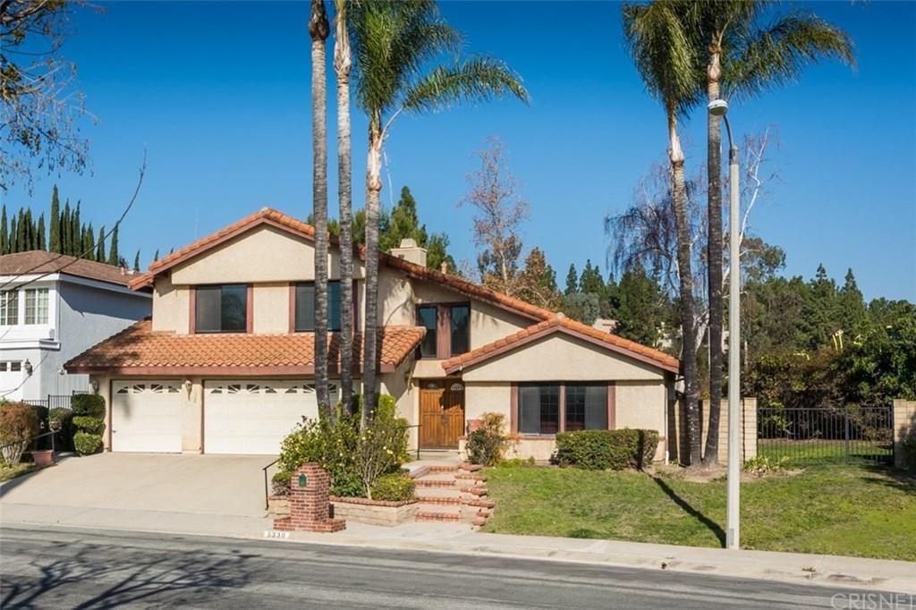 Photo of 3330 HEATHERGLOW Street, Thousand Oaks, CA 91360 (MLS # SR20015149)