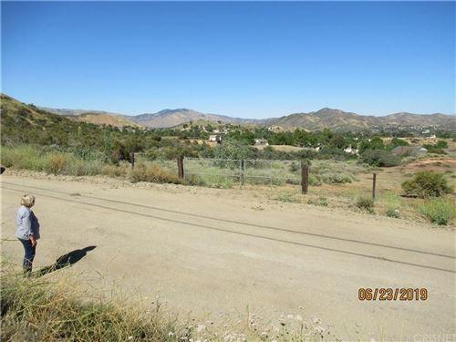 Photo of 0 CYN QUAIL TRL DARLIN, Agua Dulce, CA (MLS # SR19287155)