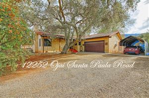 Photo of 12252 OJAI SANTA PAULA Road, Ojai, CA 93023 (MLS # 218014162)