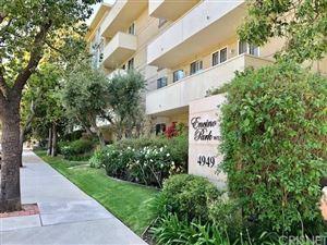 Photo of 4949 GENESTA Avenue #302, Encino, CA 91316 (MLS # SR19111163)