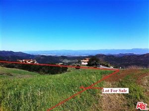 Photo of 0 PACIFIC VIEW Road, Malibu, CA 90265 (MLS # 18349180)