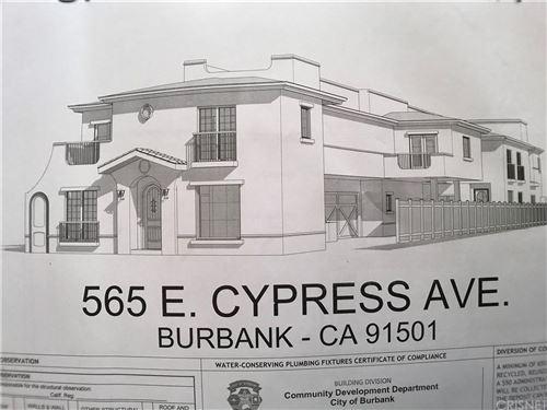 Photo of 565 East CYPRESS Avenue, Burbank, CA 91501 (MLS # SR19263191)