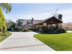 Photo of 17180 RAYEN Street, SHERWOOD FOREST, CA 91325 (MLS # SR18057238)