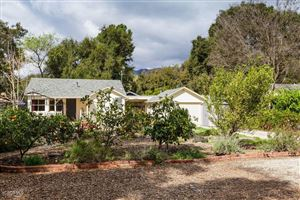 Photo of 149 North PADRE JUAN Avenue, Ojai, CA 93023 (MLS # 218003242)