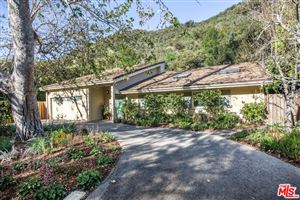Photo of 3245 MANDEVILLE CANYON Road, Los Angeles , CA 90049 (MLS # 18335252)