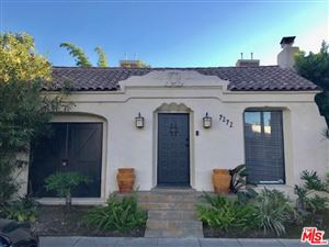 Photo of 7272 WILLOUGHBY Avenue, Los Angeles , CA 90046 (MLS # 18407268)