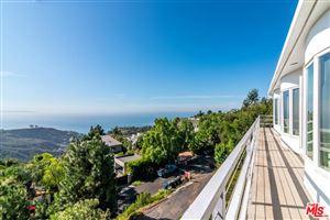 Photo of 21733 CASTLEWOOD Drive, Malibu, CA 90265 (MLS # 19503278)