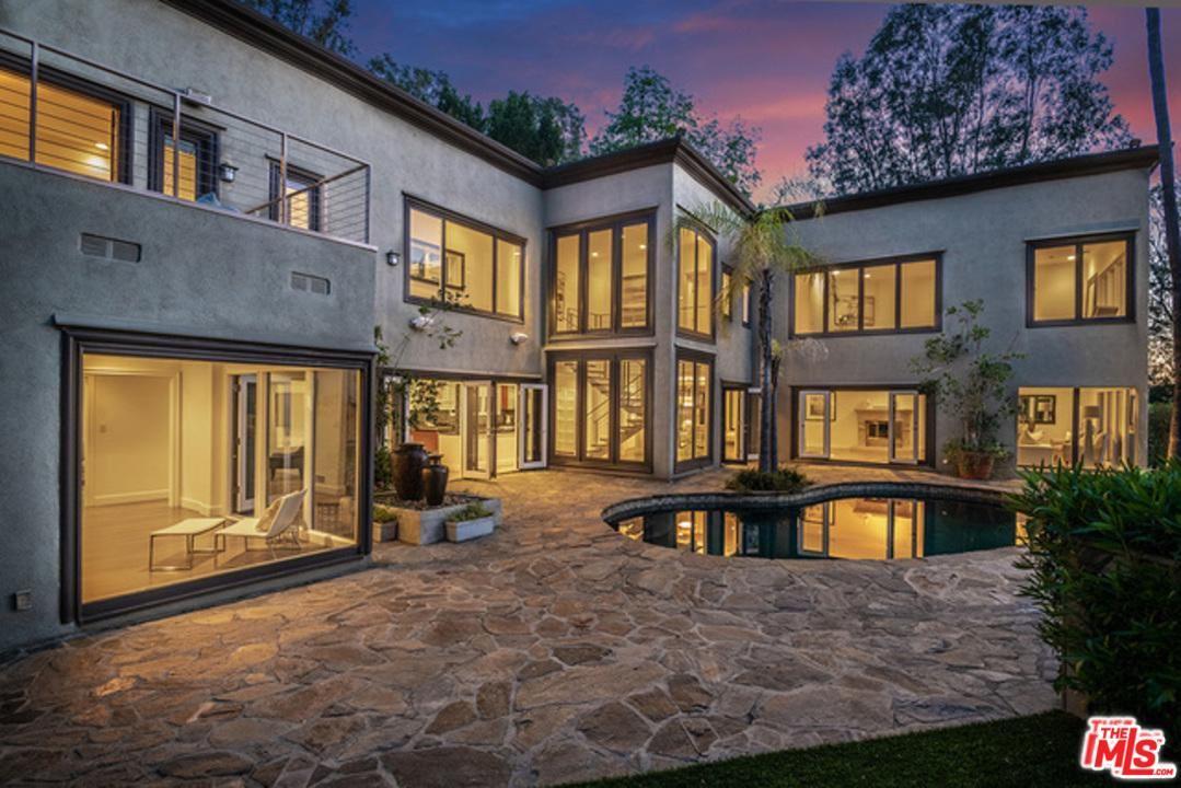 Photo of 9505 HIDDEN VALLEY Road, Beverly Hills, CA 90210 (MLS # 20554288)
