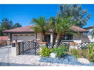 Photo of 4958 MARMOL Drive, Woodland Hills, CA 91364 (MLS # SR18237307)