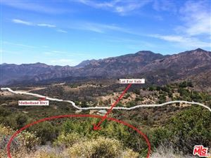 Photo of 0 MULHOLLAND HWY, Malibu, CA 90265 (MLS # 18340310)