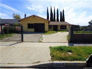 Photo of 12520 CARL Street, Pacoima, CA 91331 (MLS # SR18054315)
