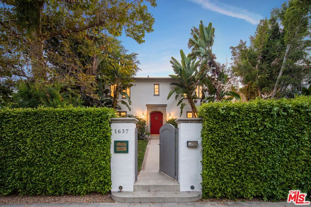 Photo for 1637 North ORANGE GROVE Avenue, Los Angeles , CA 90046 (MLS # 19500322)