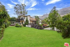 Photo of 3806 LAS FLORES CANYON Road, Malibu, CA 90265 (MLS # 19438324)
