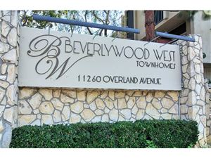 Photo of 11260 OVERLAND Avenue #7E, Culver City, CA 90230 (MLS # SR18199332)