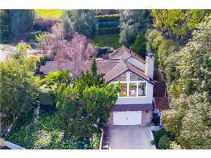 Photo of 4195 CRISP CANYON Road, Sherman Oaks, CA 91403 (MLS # SR18057340)