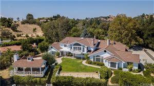 Photo of 24344 ROLLING VIEW Road, Hidden Hills, CA 91302 (MLS # SR19216346)