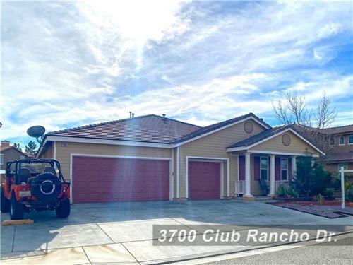 Photo of 3700 CLUB RANCHO Drive, Palmdale, CA 93551 (MLS # SR20013356)
