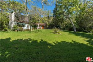 Photo of 2500 MANDEVILLE CANYON Road, Los Angeles , CA 90049 (MLS # 18330358)