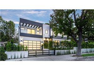 Photo of 16108 DICKENS Street, Encino, CA 91436 (MLS # SR18280370)