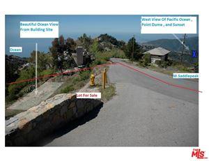 Photo of 24744 WEST SADDLEPEAK Road, Malibu, CA 90265 (MLS # 18390372)