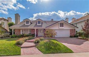 Photo of 5879 RIDGEBROOK Drive, Agoura Hills, CA 91301 (MLS # 217013376)