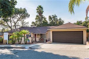 Photo of 1853 LAS FLORES Drive, Glendale, CA 91207 (MLS # 319000376)