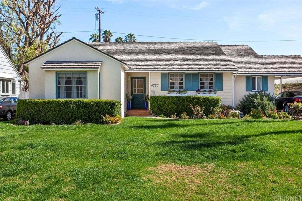 Photo of 4730 COLUMBUS Avenue, Sherman Oaks, CA 91403 (MLS # SR20040418)