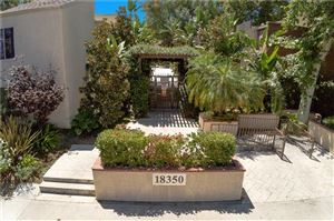 Photo of 18350 HATTERAS Street #110, Tarzana, CA 91356 (MLS # SR19200452)