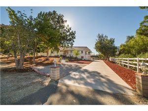 Photo of 30018 PRIMROSE Drive, Saugus, CA 91390 (MLS # SR18047459)