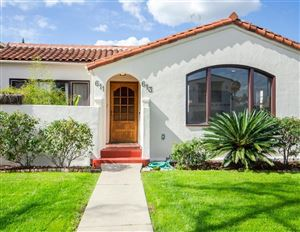 Photo of 611 North POINSETTIA Place, Los Angeles , CA 90036 (MLS # 318000471)