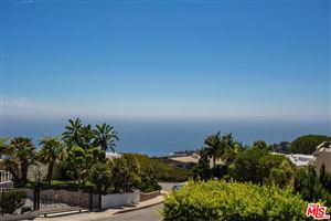 Photo of 1107 VISTA GRANDE Drive, Pacific Palisades, CA 90272 (MLS # 18395508)