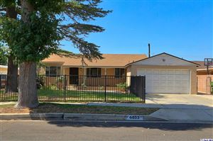 Photo of 6633 MORSE Avenue, Valley Glen, CA 91606 (MLS # 319003518)